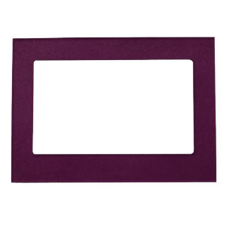 Purple Suede Look Magnetic Picture Frame
