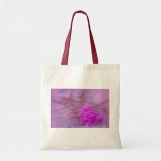 purple summer dream budget tote bag