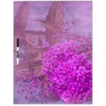 purple summer dream Dry-Erase whiteboards