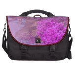 purple summer dream laptop commuter bag