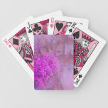 purple summer dream playing cards