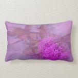 purple summer dream throw pillow