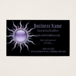 Purple Sun 2 Business Card