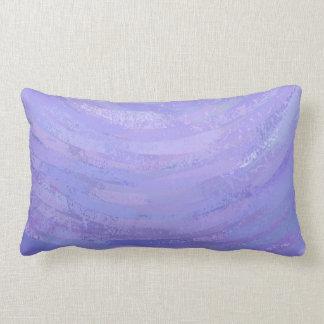 Purple Sun Lumbar Pillow