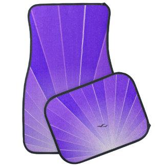 """Purple Sunbeam & Seagulls """"FlyAway"""" Car Mats"""