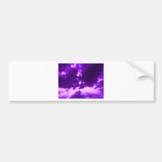 purple sunbeams bumper sticker