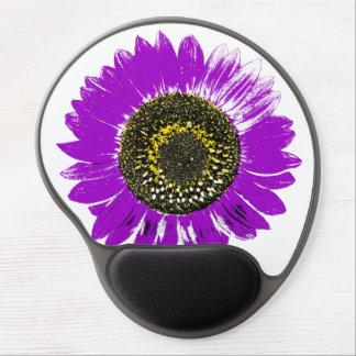 Purple Sunflower Gel Mouse Pad