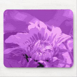 Purple Sunflower Mousepad