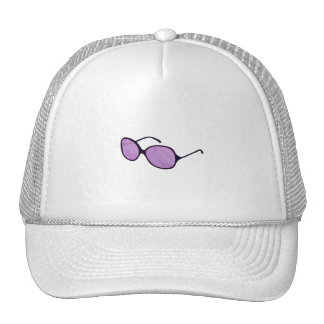 purple sunglasses beach style png hat