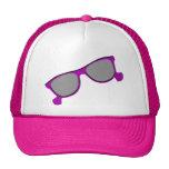 Purple Sunglasses Hat