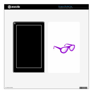 purple sunglasses reflection.png skins for kindle fire