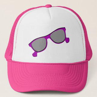 Purple Sunglasses Trucker Hat