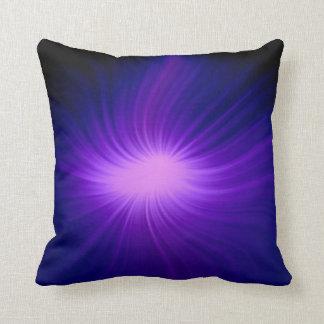 Purple sunlight 2 throw pillow