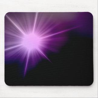 Purple Sunlight Mouse Pad