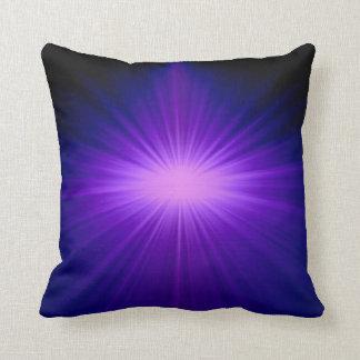 Purple sunlight pillow