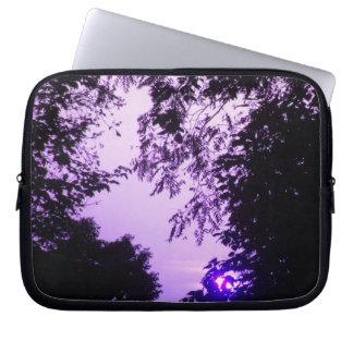 Purple Sunrise Laptop Sleeve
