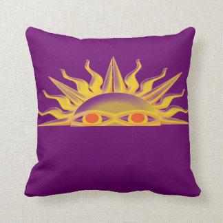 Purple SunRise Pillow