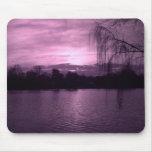 Purple Sunset at Reservoir Mouse Pad