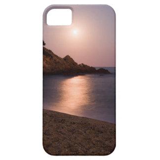 Purple Sunset beach Catalonia, Spain iPhone 5 Covers