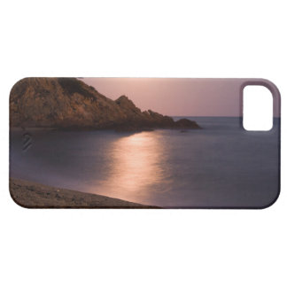 Purple Sunset beach Catalonia, Spain iPhone 5 Case