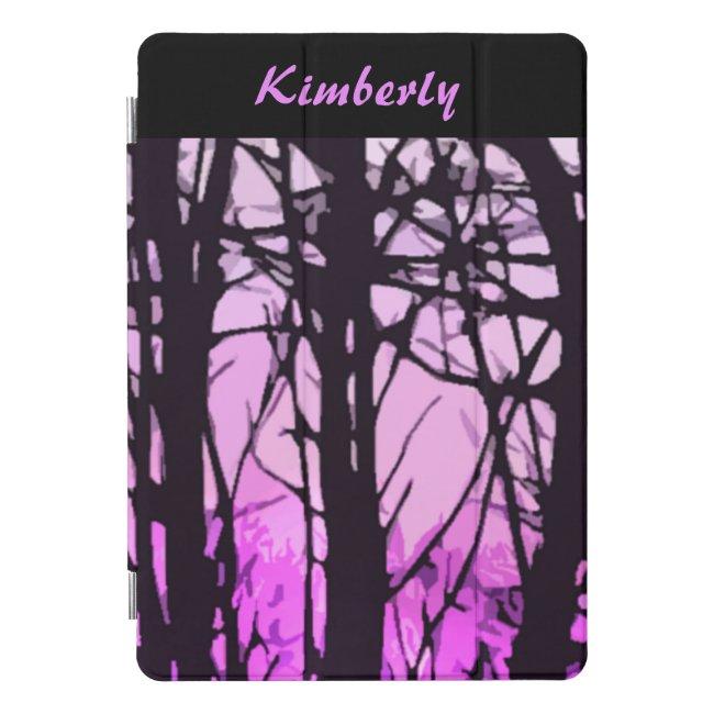 Purple Sunset Stained Glass 10.5 iPad Pro Case