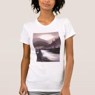 Purple Sunset Tee Shirt