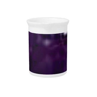 purple surface shine pitcher