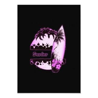 Purple Surfer Card