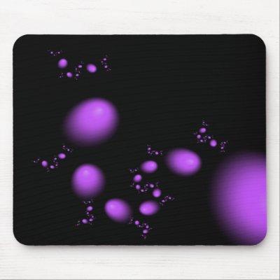 Purple Surreal Mousepad