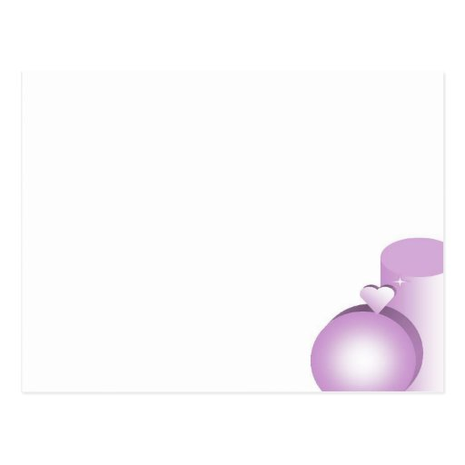 Purple Sweetness Postcards
