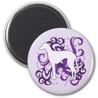 Purple Swirl Azawakh Magnets