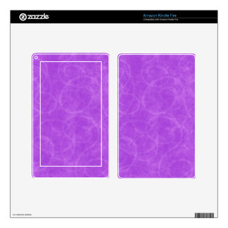 Purple Swirl Decals For Kindle Fire