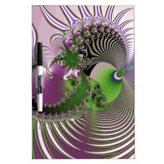 Purple Swirl Dry Erase Boards