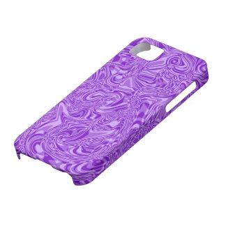 Purple Swirl iPhone SE/5/5s Case