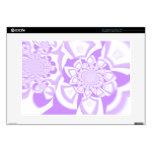 Purple Swirl Laptop Skin