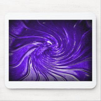 Purple Swirl Martini Glass enhanced digitally Mouse Pad