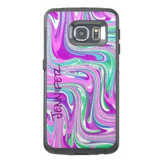 Purple Swirl OtterBox Samsung Galaxy S6 Edge Case