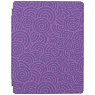 Purple Swirls iPad Cover