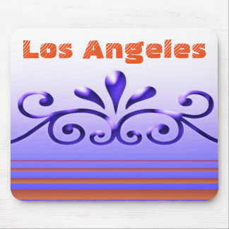 Purple swirls Mousepad