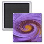 Purple Swril Magnets