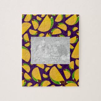 Purple tacos jigsaw puzzle