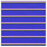 [ Thumbnail: Purple, Tan, Black, and Blue Colored Pattern Fabric ]