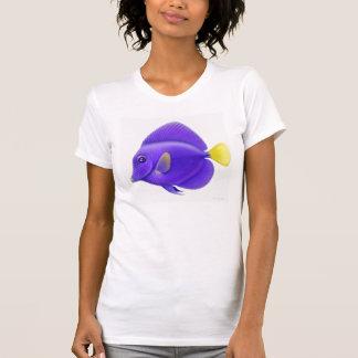 Purple Tang Reef Fish Ladies Petite Shirt