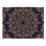 Purple Tapestry No5 Postcard
