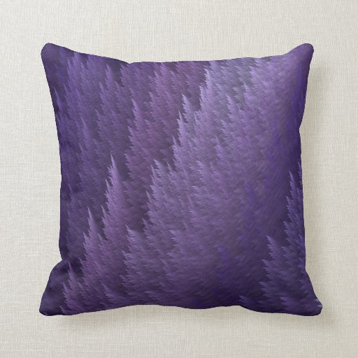 Throw Pillows With Feather Design : Purple Tartan Feather Pattern Design Throw Pillow Zazzle