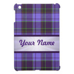 Purple Tartan personalized iPad Mini Case