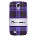 Purple Tartan With Ribbon Galaxy S4 Cases