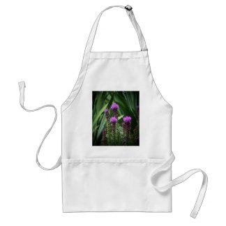 purple tasseld flower adult apron