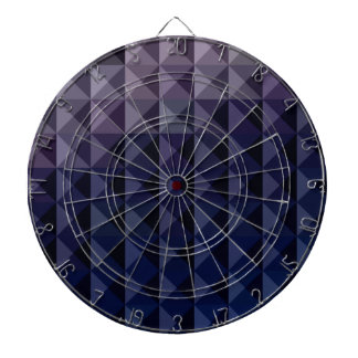 Purple Taupe Abstract Low Polygon Background Dartboard