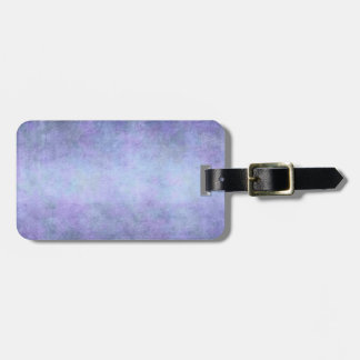 Purple, Teal Blue, Aqua, and Violet Watercolor Luggage Tag